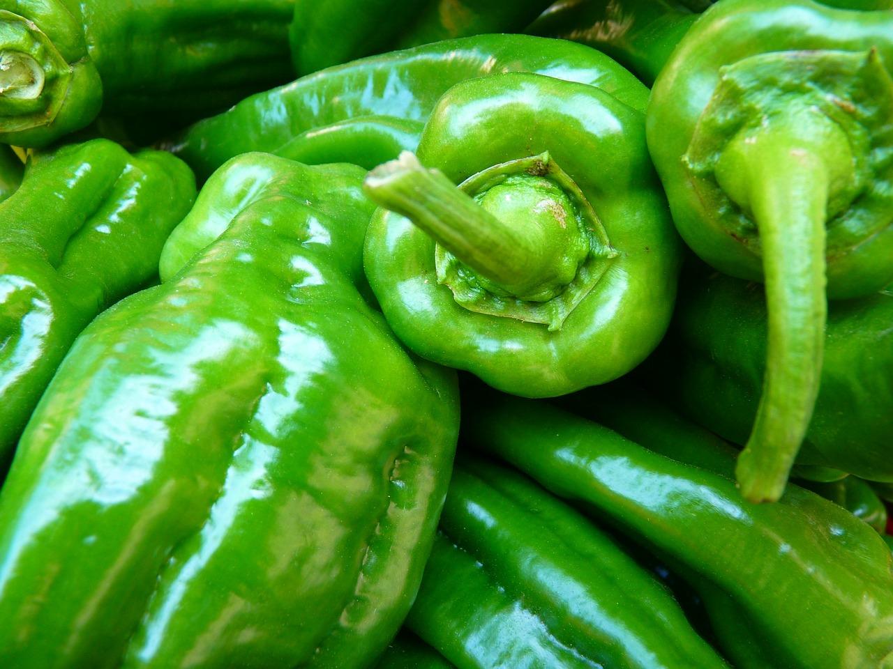 Con chiles poblanos …¡que delicioso guisamos!