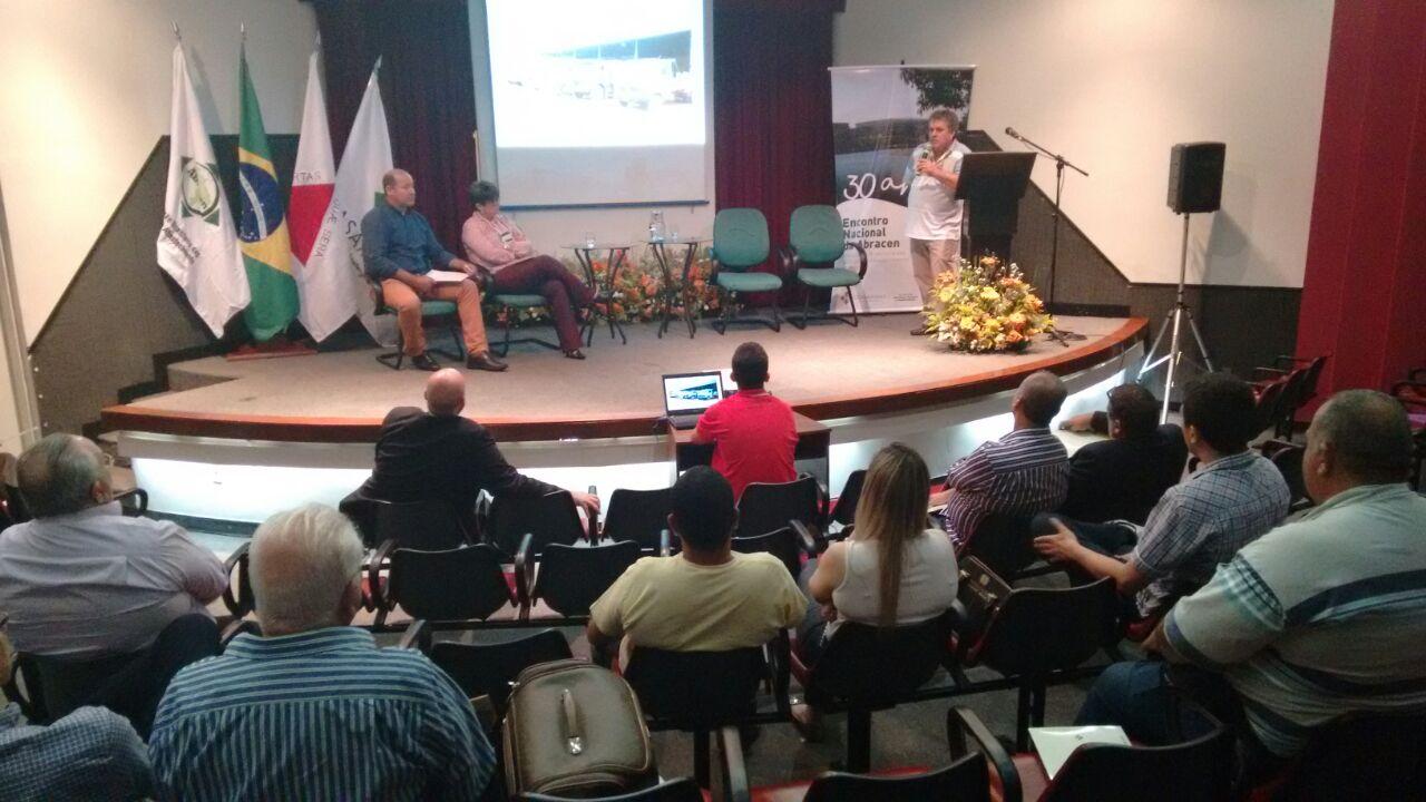 Palestra de Manuel Estrada-Nora, presidente da WUWM, encerra o Encontro Nacional da Abracen