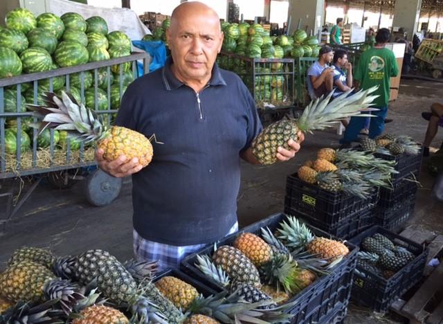 Abacaxi é dica de consumo, com queda de 5,4% no preço