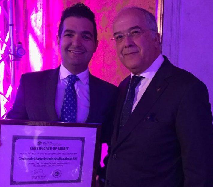 Banco de Alimentos do CEASAMinas recebe premiação em evento da WUM