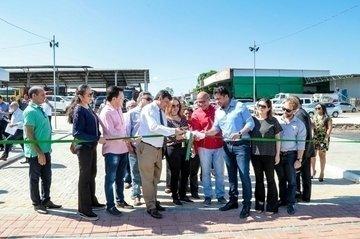 Governador entrega obras de infraestrutura da Nova Ceasa Piauí
