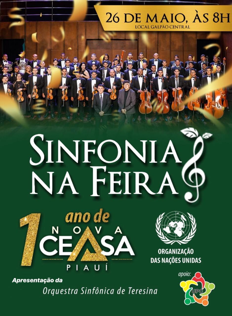 Nova CEASA, em Terezina – Pi, promove *Sinfonia na Feira*