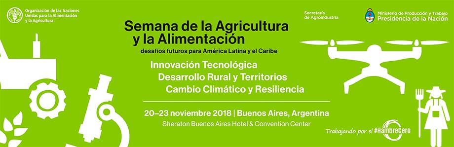 Semana da Agricultura e Alimentação: Desafios futuros para a América Latina e o Caribe